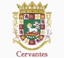 Cervantes Shield of Puerto Rico Kids Tee