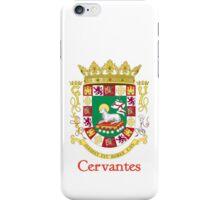 Cervantes Shield of Puerto Rico iPhone Case/Skin