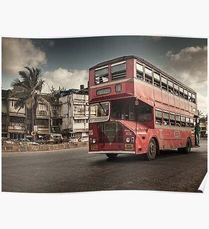 Bombay Bus Poster
