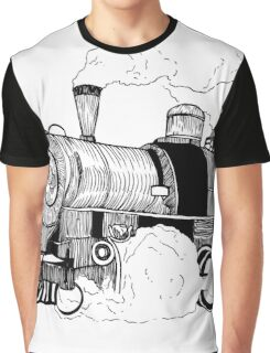 Steam Engine Graphic T-Shirt