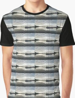 Downy Soft Clouds at the Marina Graphic T-Shirt