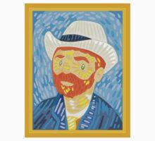 Self- portrait Van Gogh Kids Tee