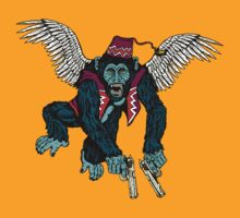 Flyin' Monkey by ZugArt