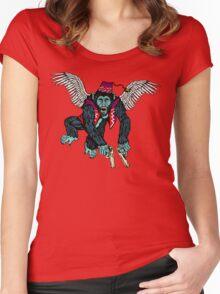 Flyin' Monkey Women's Fitted Scoop T-Shirt