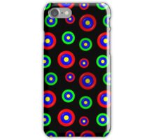 Vibrant Plastic Circle Pattern iPhone Case/Skin