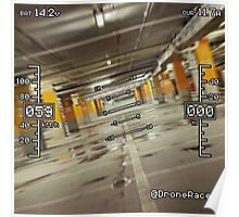 First Person View (Parking Garage #1) Poster