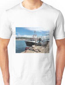 New Seeker - Lyme Regis Harbour Unisex T-Shirt