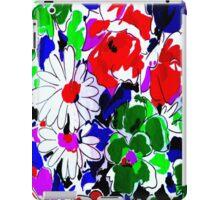 """LARGE COLOR FLOWER"" Art Deco Print iPad Case/Skin"