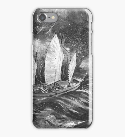 Turbulent Seas iPhone Case/Skin