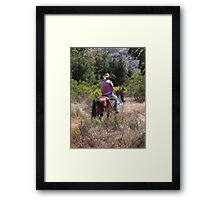 Country Cowboy Framed Print
