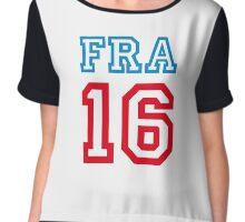 FRANCE 16 Chiffon Top