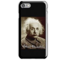 Albert, Einstein, Portrait, signature, Physicist, Genius, mathematician iPhone Case/Skin