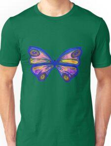 Watercolour Butterfly 1 (Purple) Unisex T-Shirt