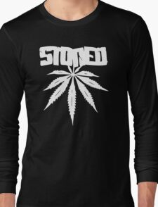 Stoned Leaf Long Sleeve T-Shirt