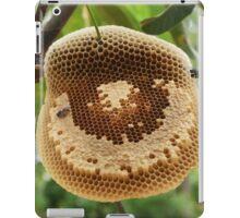 Bees on honeycomb iPad Case/Skin