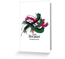 Clan Buchan  Greeting Card