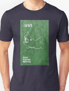 Jaws Movie Poster Design Unisex T-Shirt
