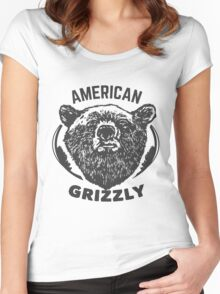 T-shirt American Grizzly Women's Fitted Scoop T-Shirt