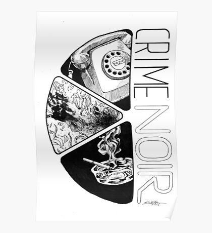 Crime Noir Poster