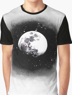 Cosmic Moon Graphic T-Shirt