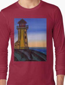 lighthouse design Long Sleeve T-Shirt