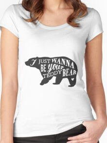 American Grizzly Women's Fitted Scoop T-Shirt