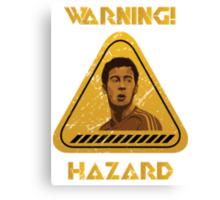 Chelsea Warning Hazard Canvas Print