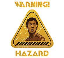 Chelsea Warning Hazard Photographic Print