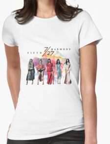 Fifth Harmony 7/27 Splash Womens Fitted T-Shirt