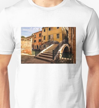 Impressions of Venice - Wandering Around Backstreets and Small Canals Unisex T-Shirt