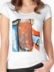 Abtag - slab Women's Fitted Scoop T-Shirt