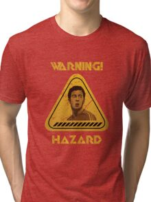 Chelsea Warning Hazard Tri-blend T-Shirt