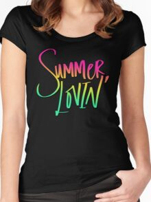 Summer Lovin' Beach Women's Fitted Scoop T-Shirt