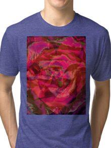 Heart Design Tri-blend T-Shirt
