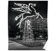 Dallas Pegasus BW Poster
