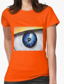 Abtag Watching you Womens Fitted T-Shirt