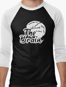 The Brain Men's Baseball ¾ T-Shirt