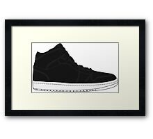 "Air Jordan I (1) ""Cyber Monday"" Framed Print"