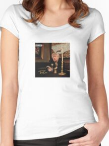 Donald Take Care Women's Fitted Scoop T-Shirt