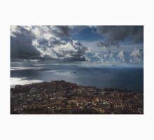 Drama in the Sky of Naples Kids Tee