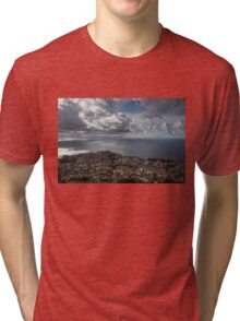Drama in the Sky of Naples Tri-blend T-Shirt