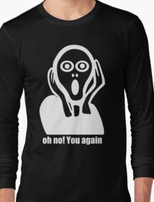 The Scream Shock Long Sleeve T-Shirt
