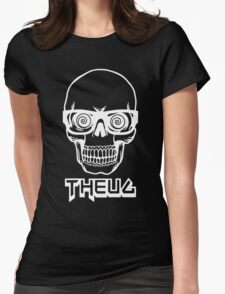 The Urban Geek Skull Womens Fitted T-Shirt