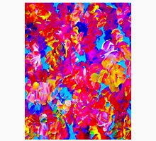 """""""FLOWER ABSTRACT"""" Painting Colorful Print Unisex T-Shirt"""