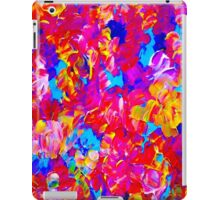 """""""FLOWER ABSTRACT"""" Painting Colorful Print iPad Case/Skin"""