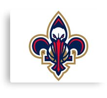 New Orleans Pelicans 9 Canvas Print