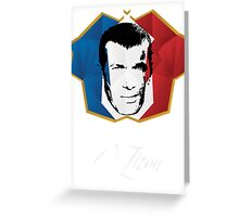 Legend Zizou Greeting Card