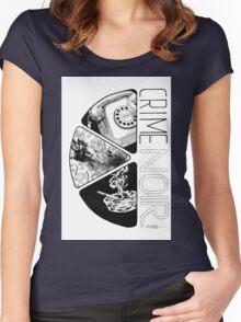 Crime Noir Women's Fitted Scoop T-Shirt
