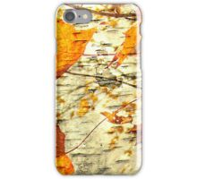 Maple leaves tree iPhone Case/Skin