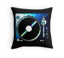 TURNTABLE_ LEFT Throw Pillow